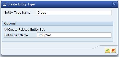 Create Entity Type
