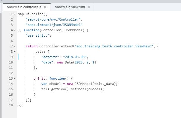 JSON модель в контроллере